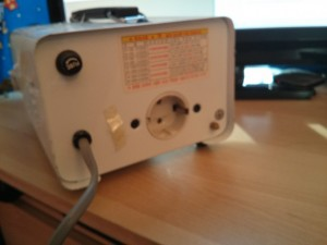 Use 220V appliance from transfer that 100V is the resource.